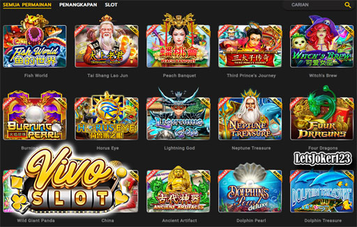 Vivoslot Popularitas Slot Online Gaming World Indonesia